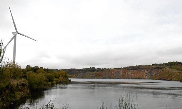 The former Westfield open cast mine in Fife is in line for a major regeneration project