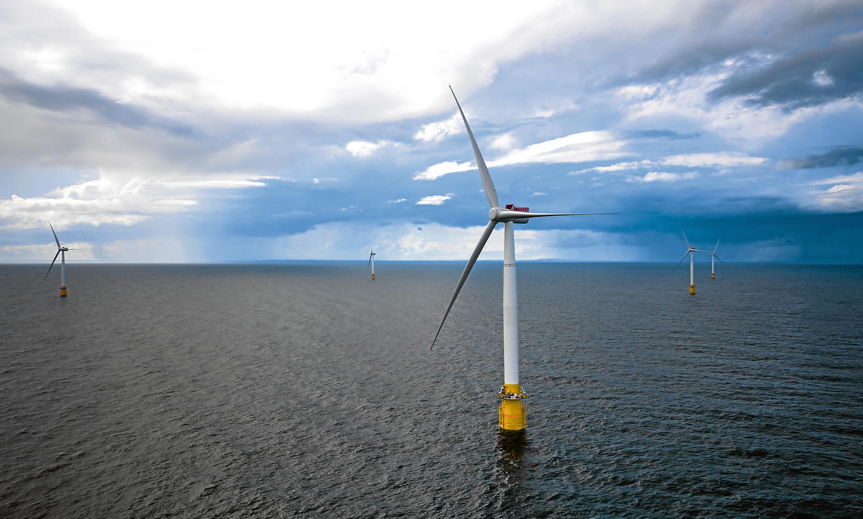 Statoil's Hywind floating wind farm