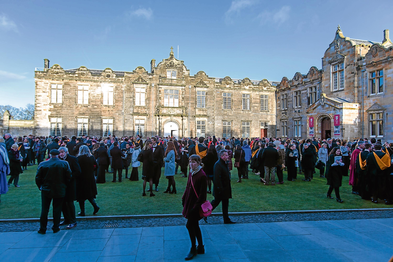 St Andrews University.