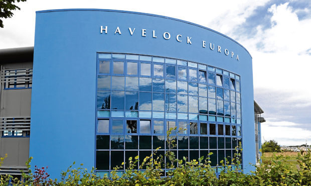 The Havelock Europa premises in the John Smith Business Park, Kirkcaldy