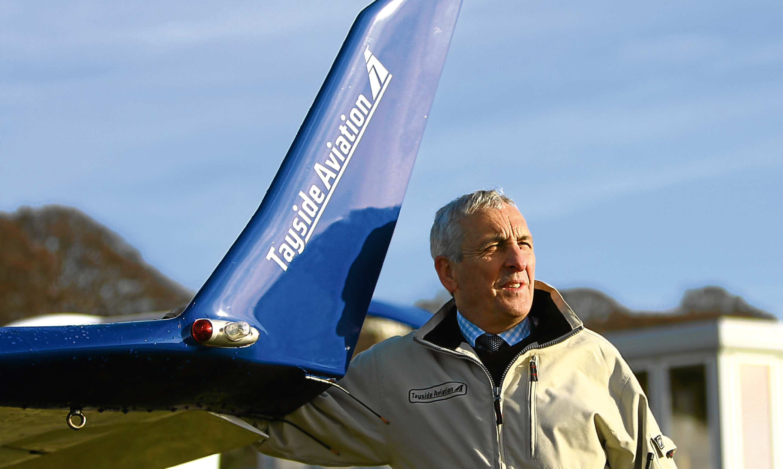 Tayside Aviations managing director Jim Watt.