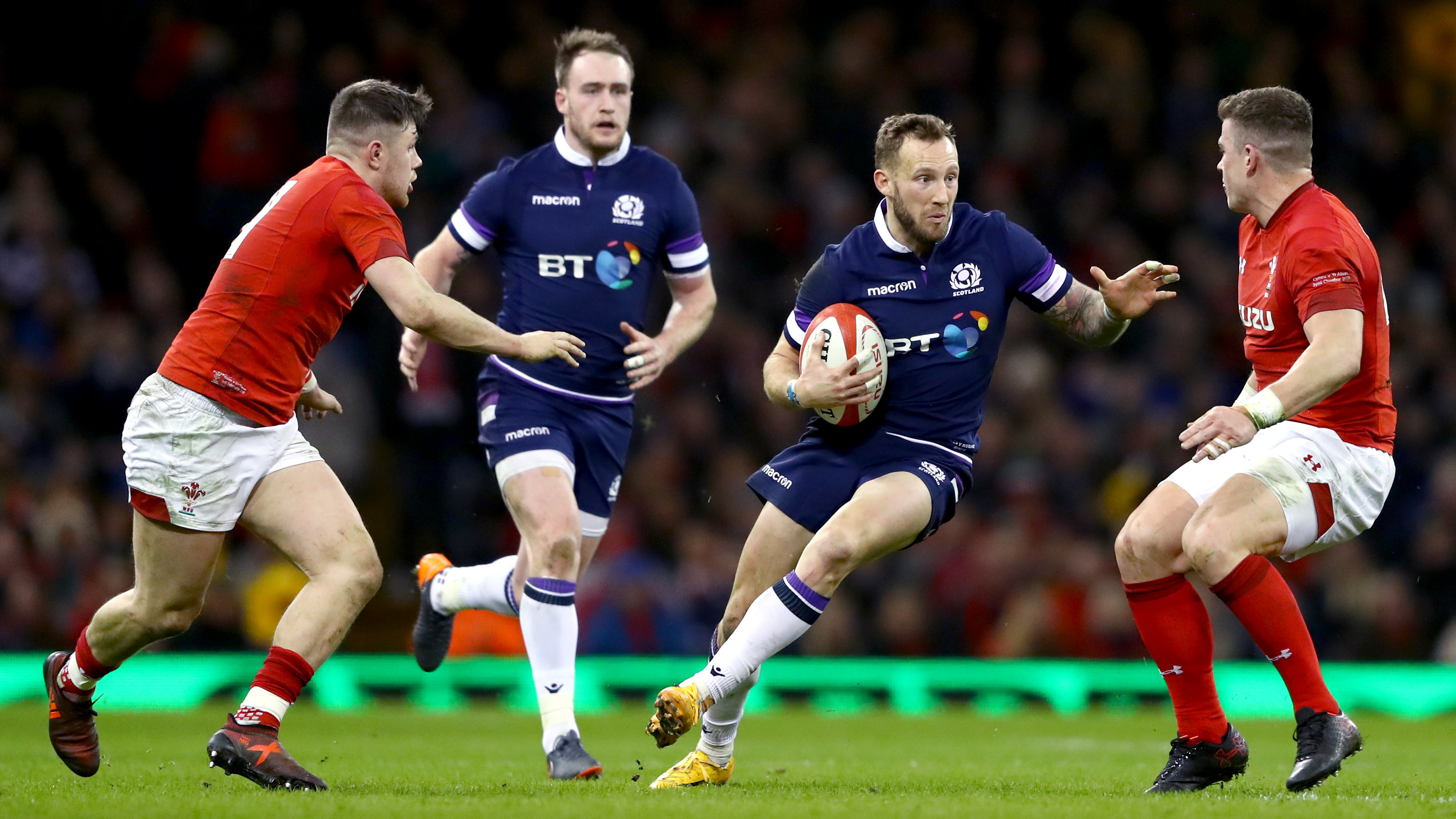 Byron McGuigan is out of the 6 Nations game against France.