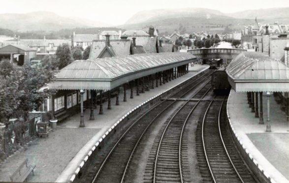 Crieff Station.