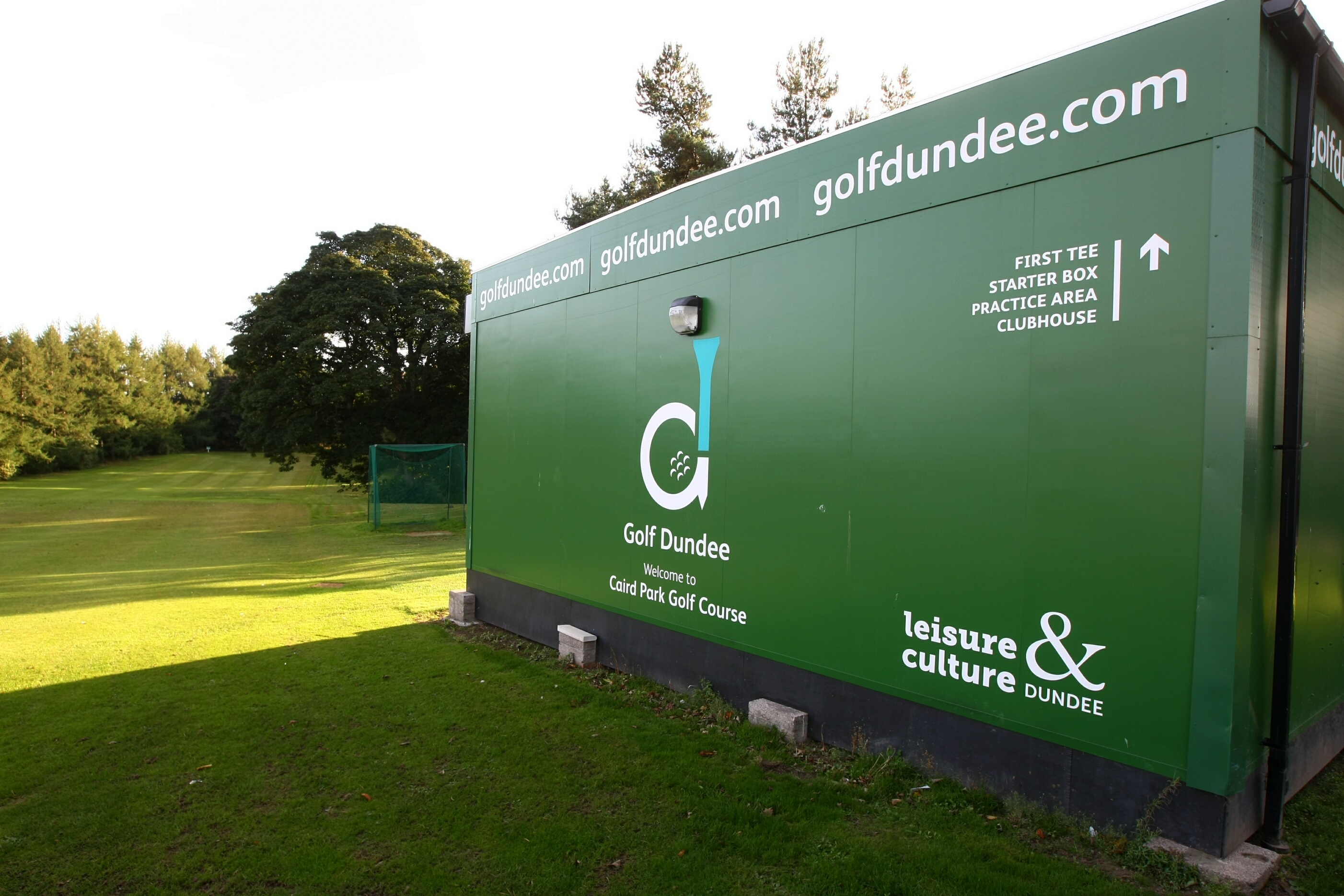 Caird Park Golf Course.