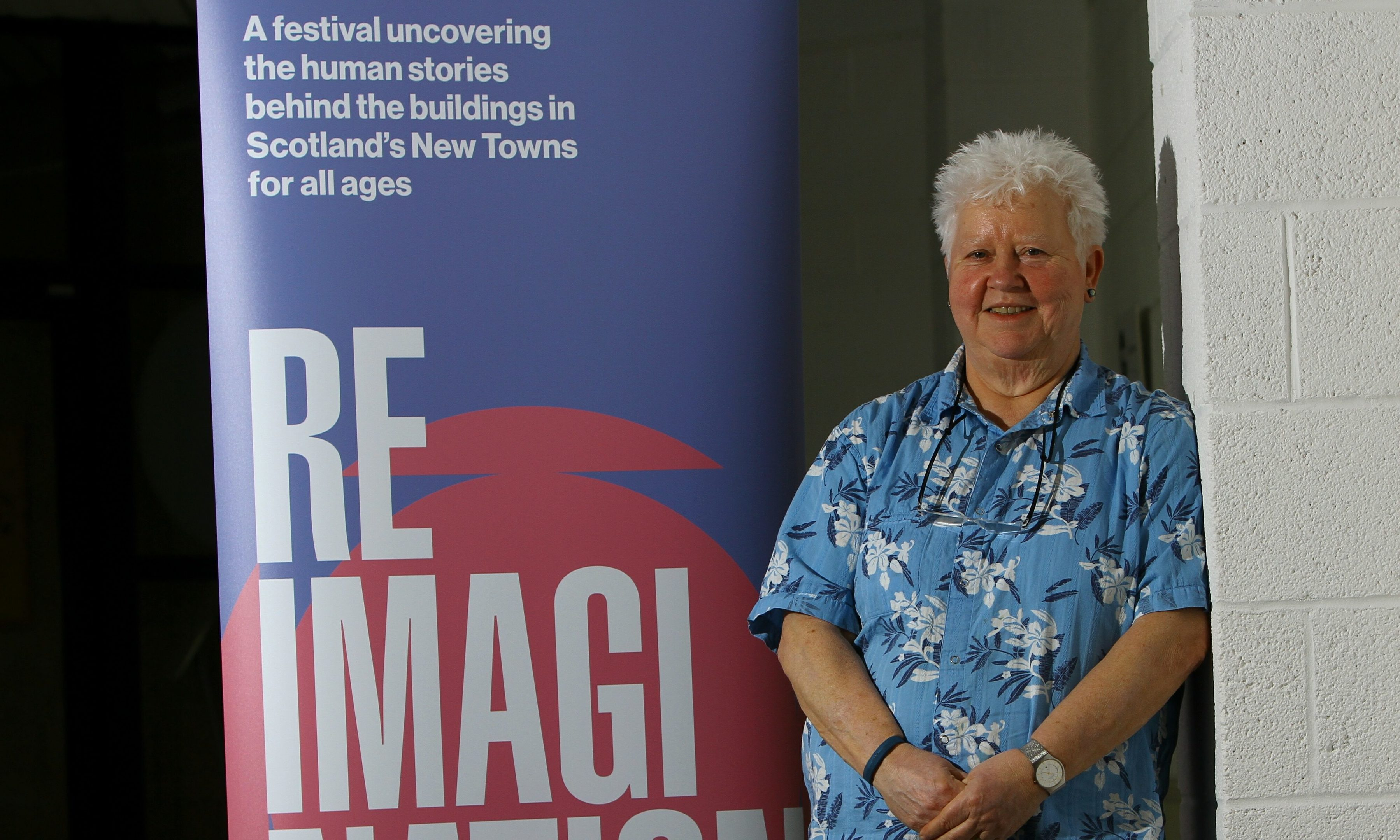 Val McDermid at the Rothes Halls to launch the Reimagination Book Festival.