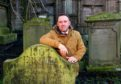 Simon Goulding, chair of the Dundee Howff Conservation Group.