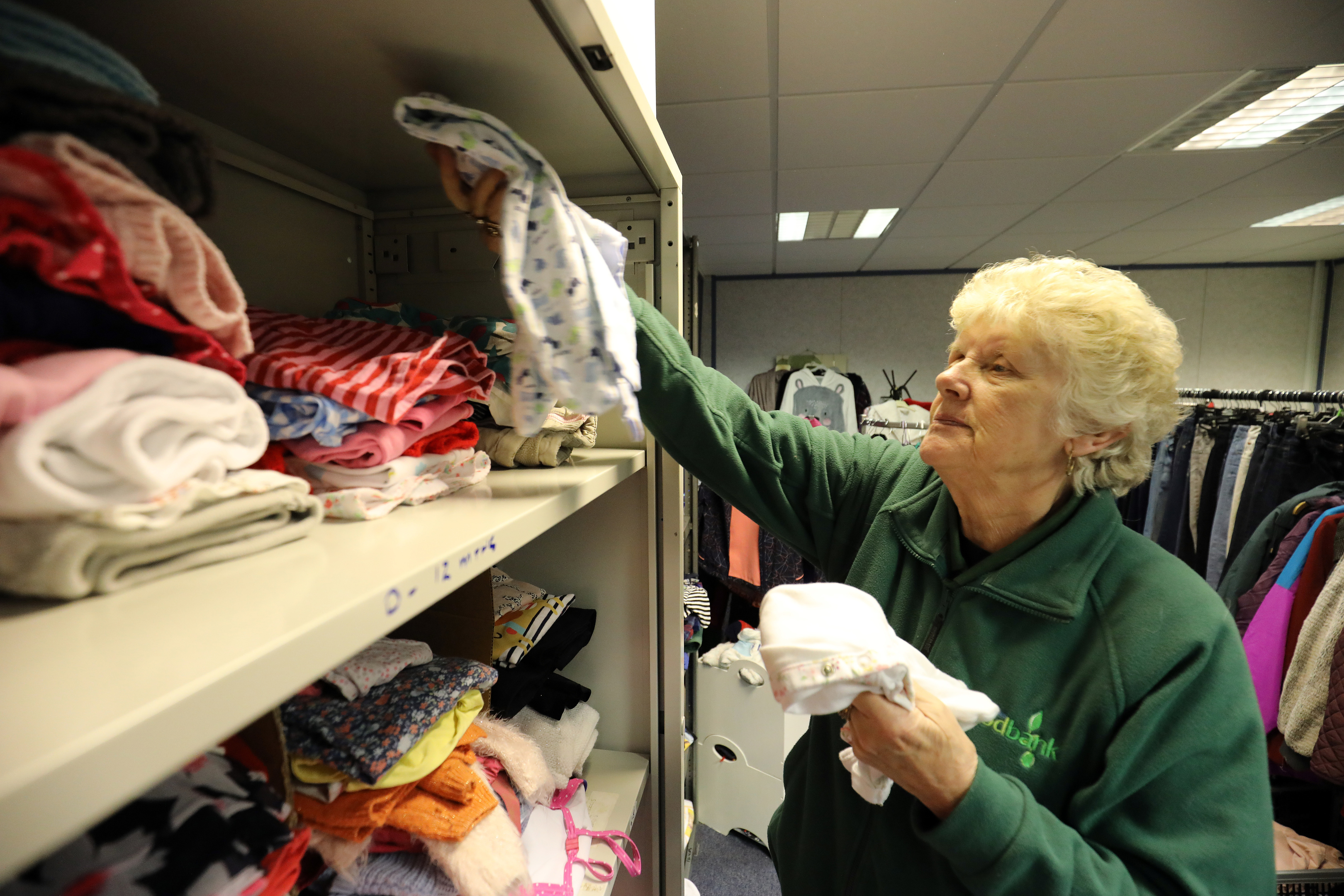 Glenrothes foodbank - 'poverty will not be resolved by technology'