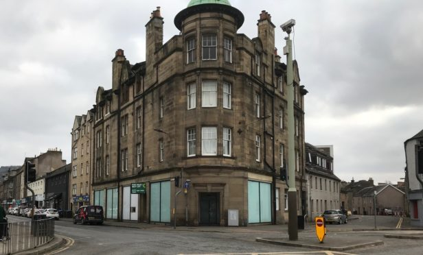 The Bank of Scotland building with Vito Crolla plans to transform.