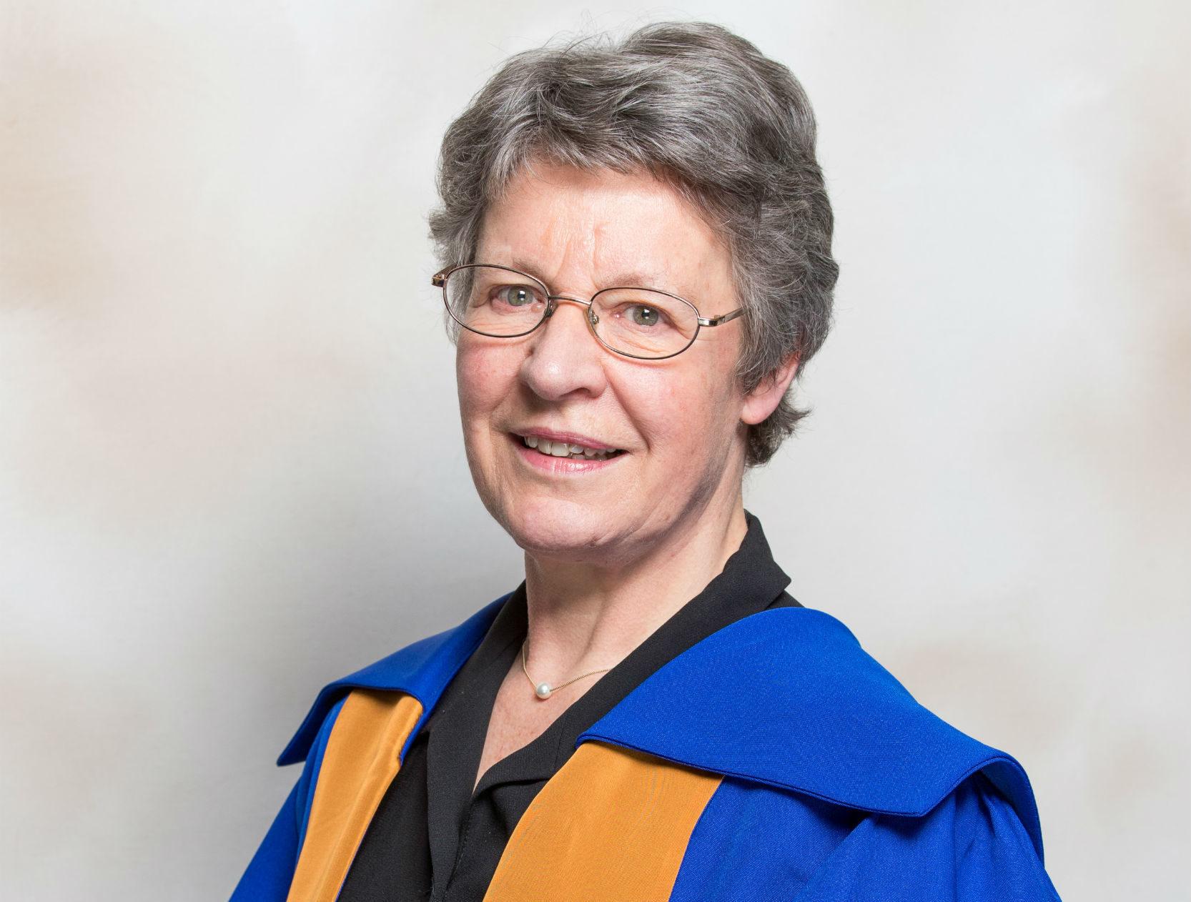 Dame Jocelyn Bell Burnell.