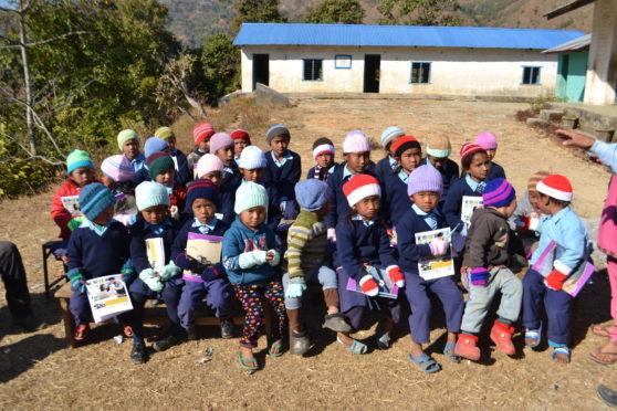 Rotarians plan to provide a bright future for pupils at Shree Jiwan Jyoti  school.