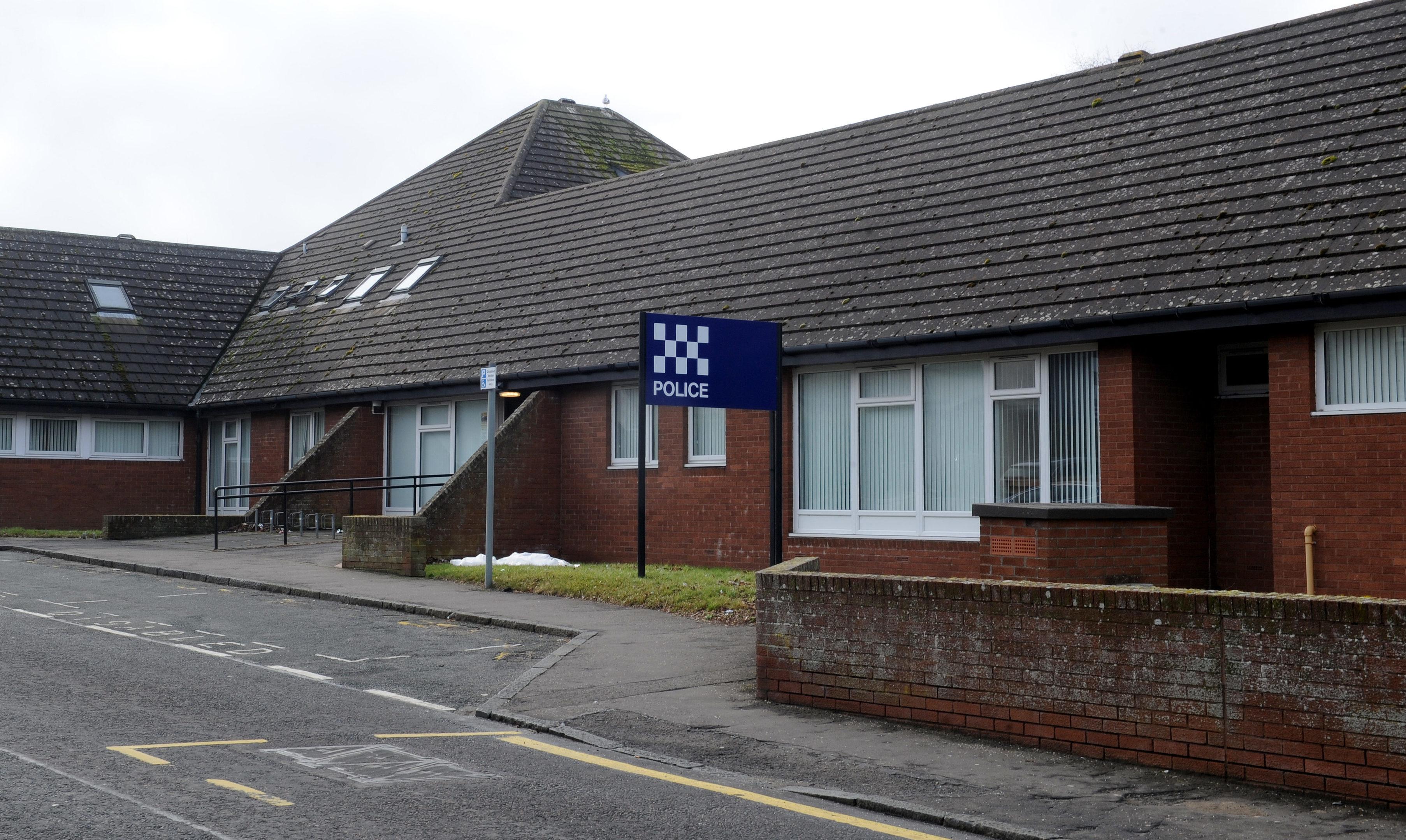 The St Andrews station