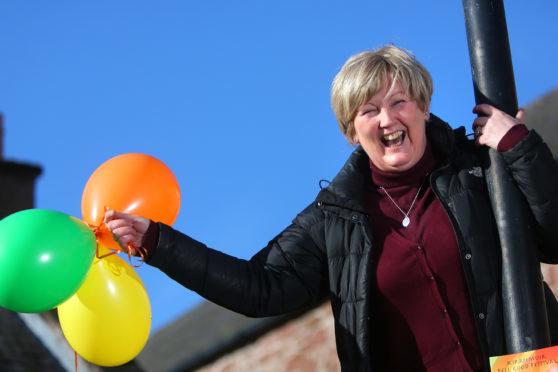 Linda Shepherd, one of the organisers of Kirrie Feel Good Festival.
