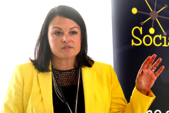 Caroline McKenna, CEO of Dundee International Women's Centre