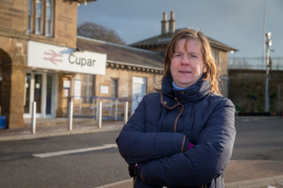 Margaret Kennedy who is concerned about overnight work that could cause locals some sleepless nights at the train station.