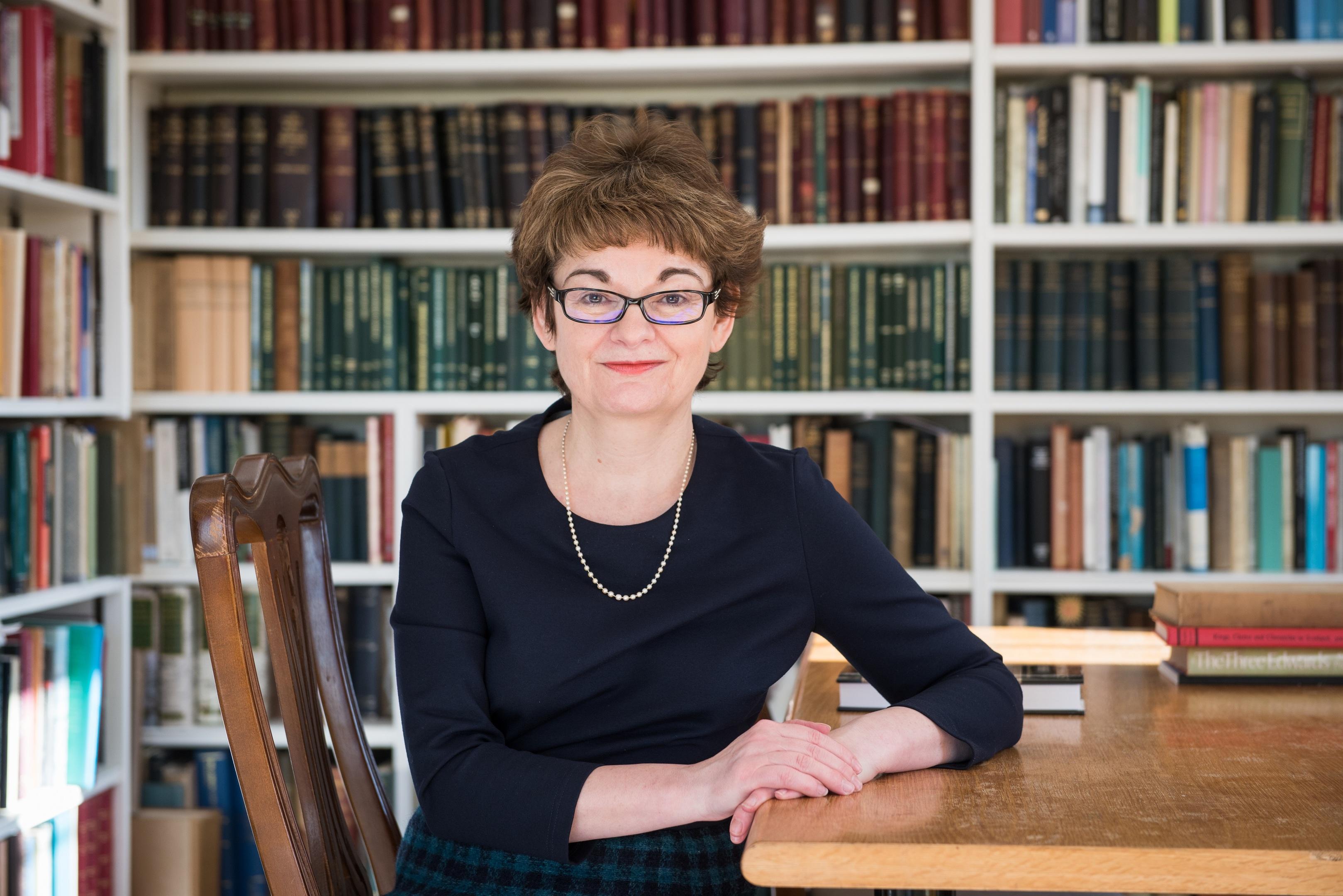Professor Sally Mapstone.
