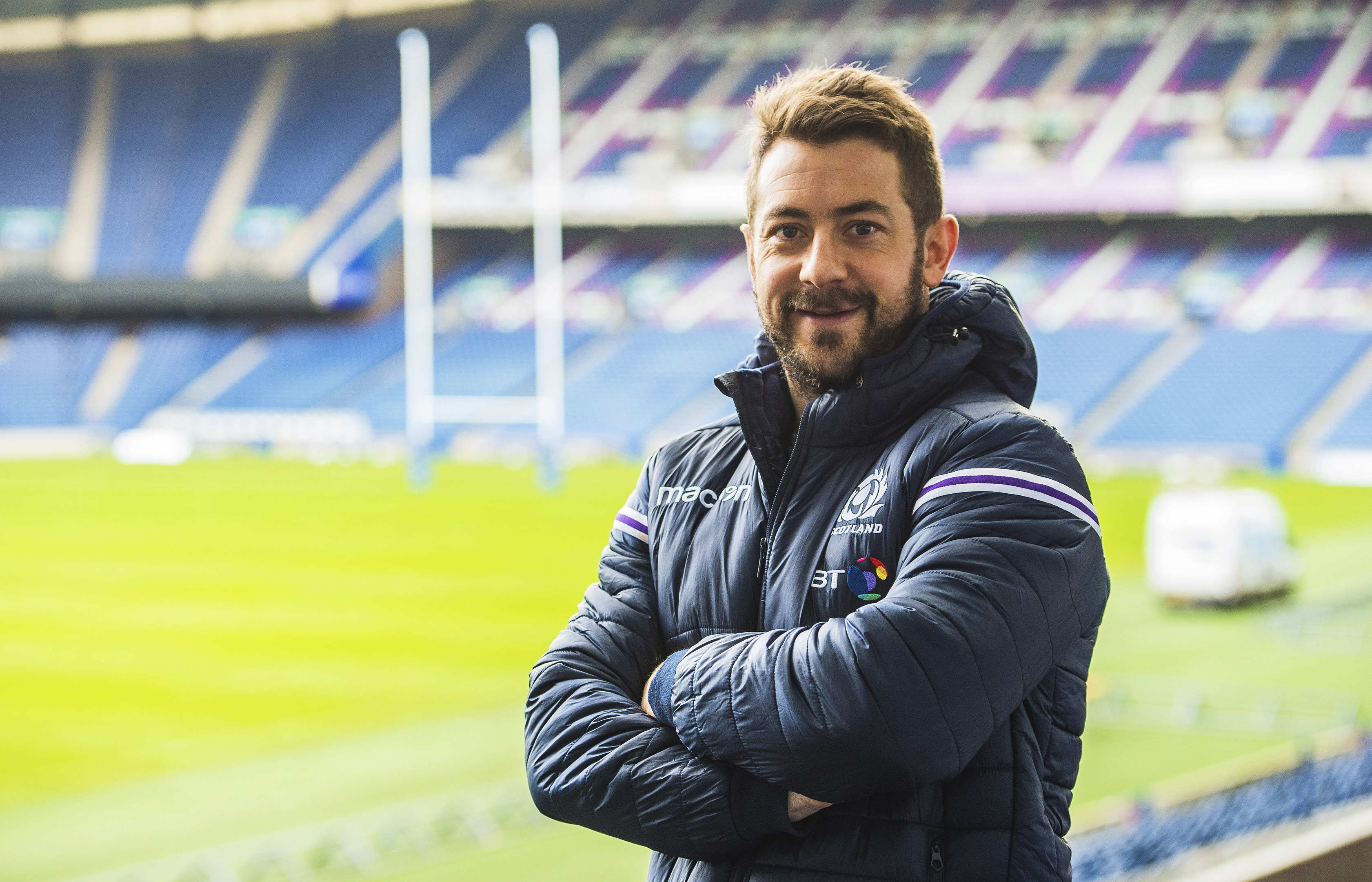 Greig Laidlaw captained Scotland a record 39 times.