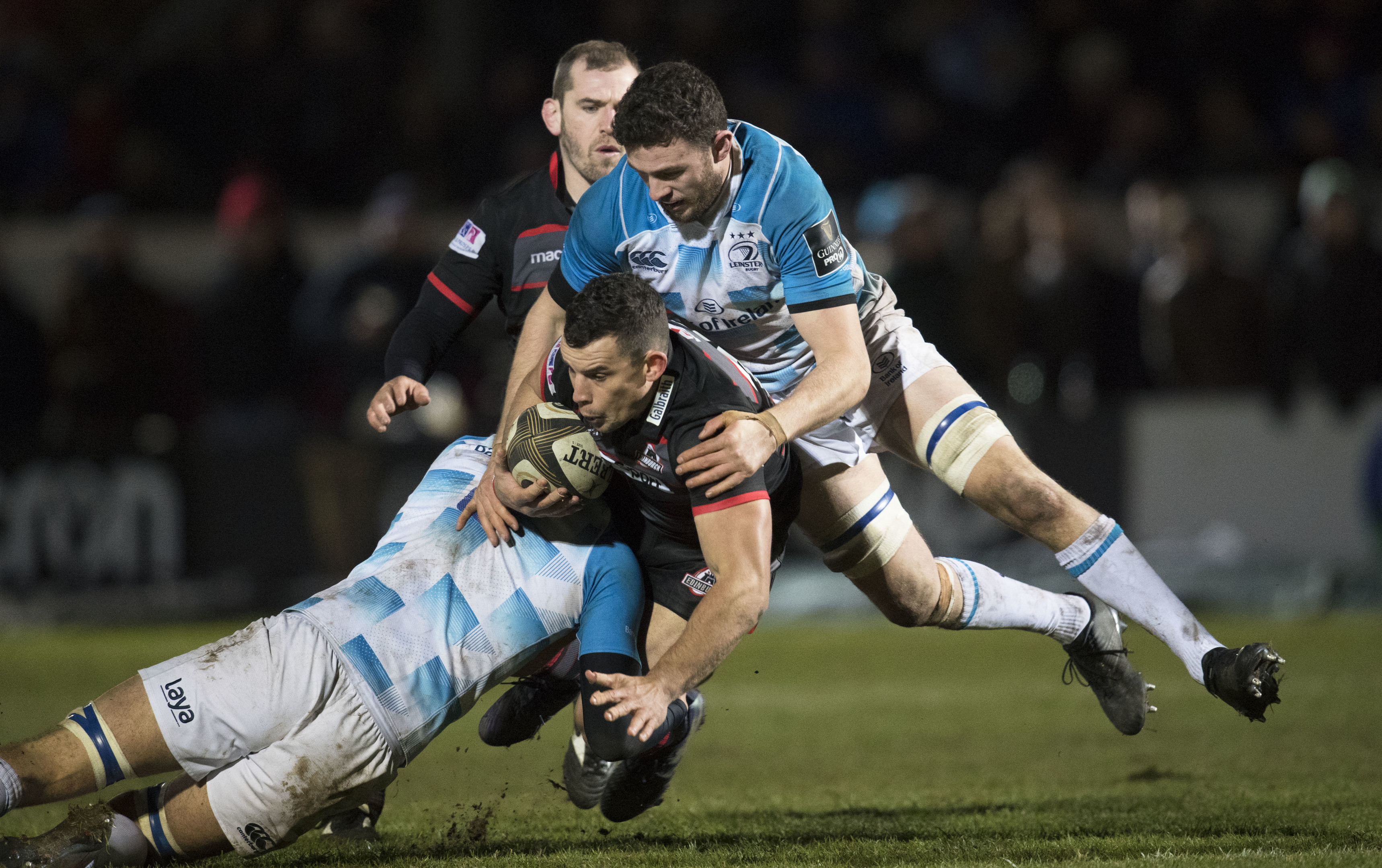 John Hardie will make his first start after his disciplinary suspension for Edinburgh at Ulster.
