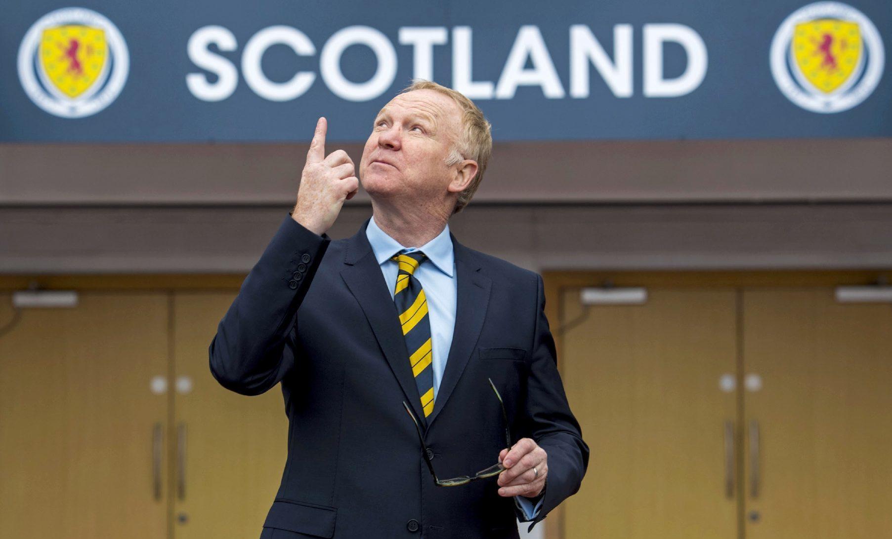 Scotland need to start moving up.