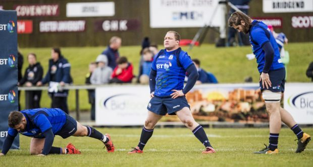 WP Nel makes his first start since the November tests for Scotland in Rome.
