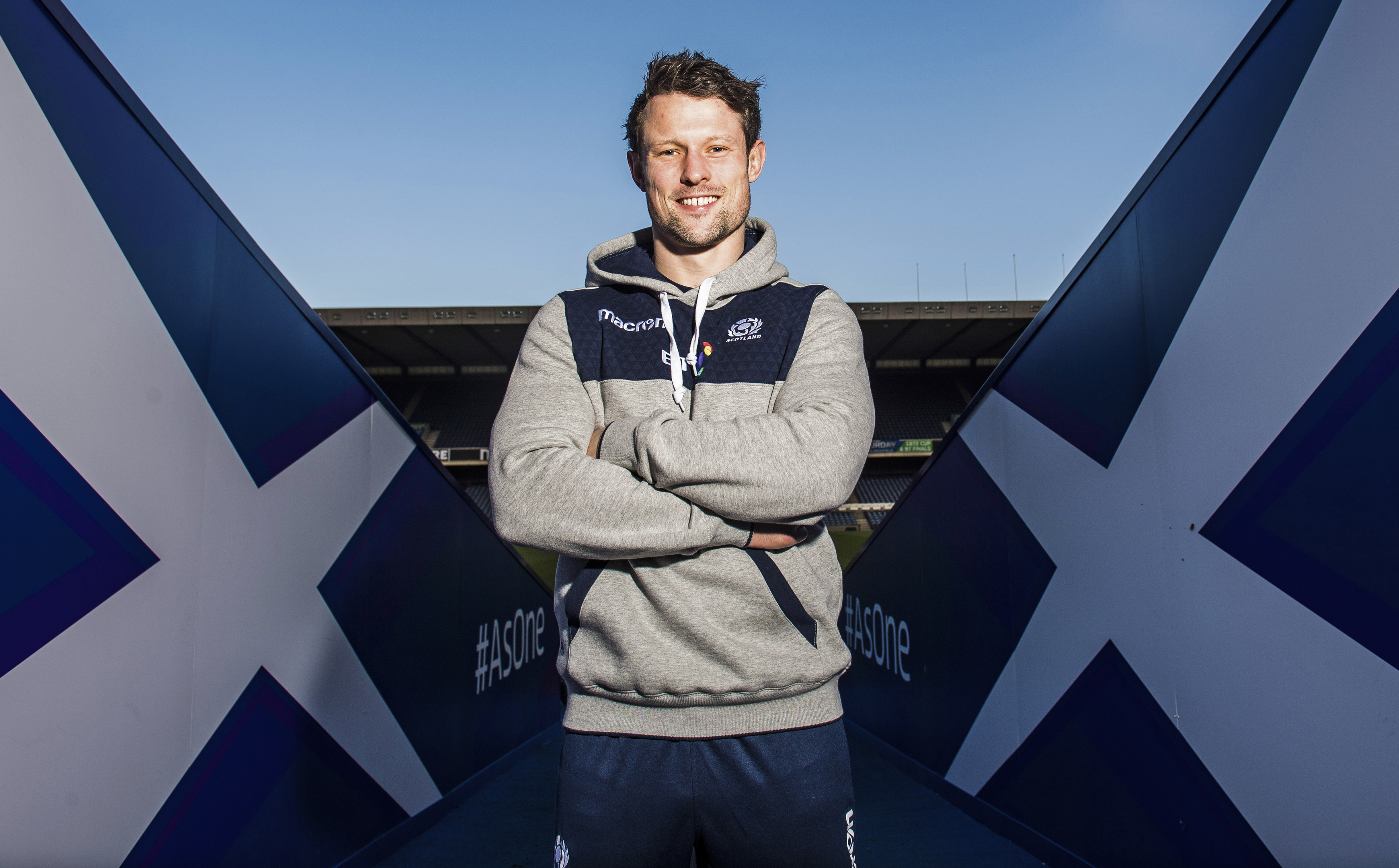 Pete Horne will play in his first Calcutta Cup game on Saturday.