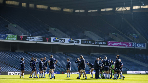 Murrayfield, headquarters of Scottish Rugby