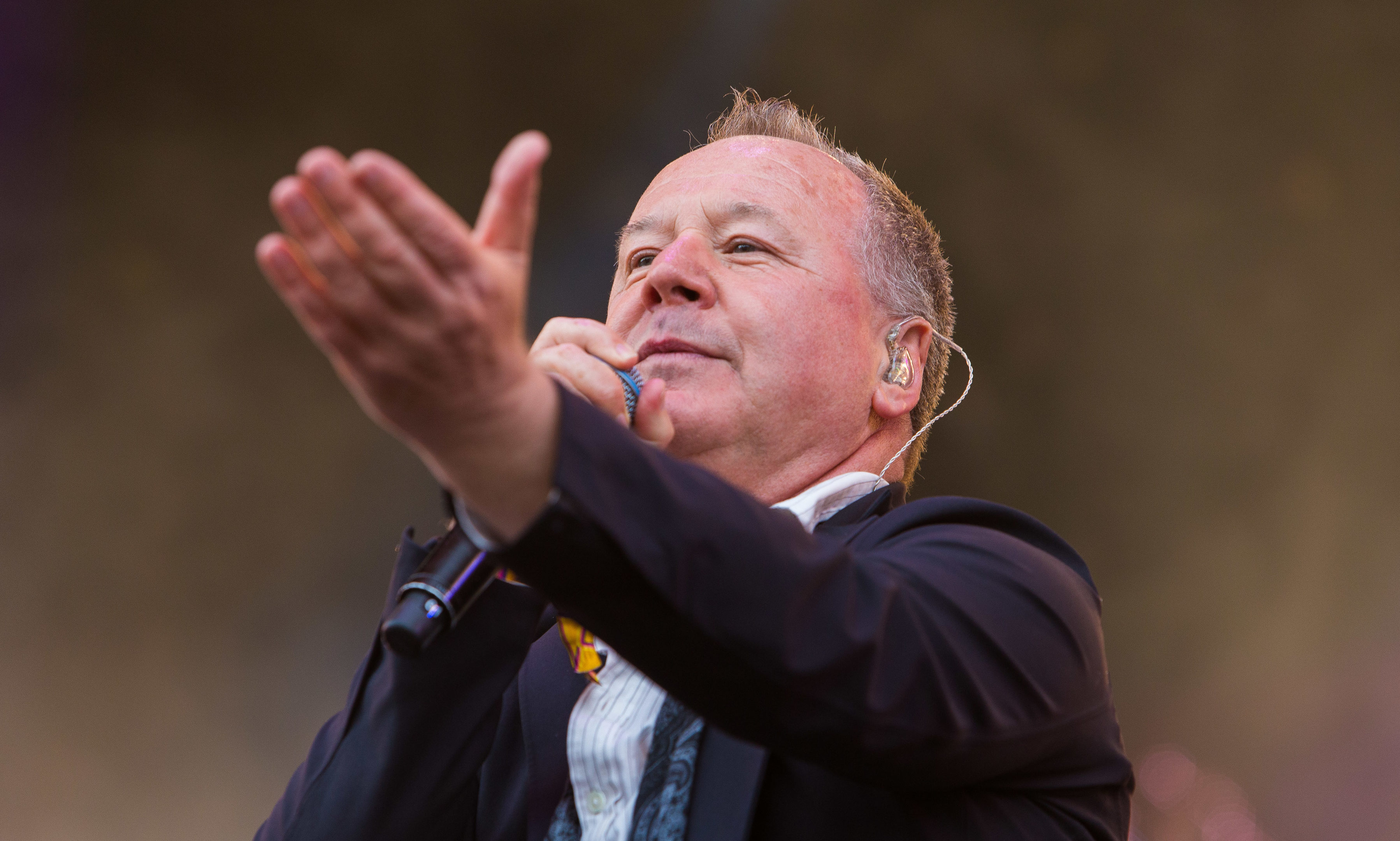 Simple Minds are among the big names at the BBC's Biggest Weekend in Scone Palace