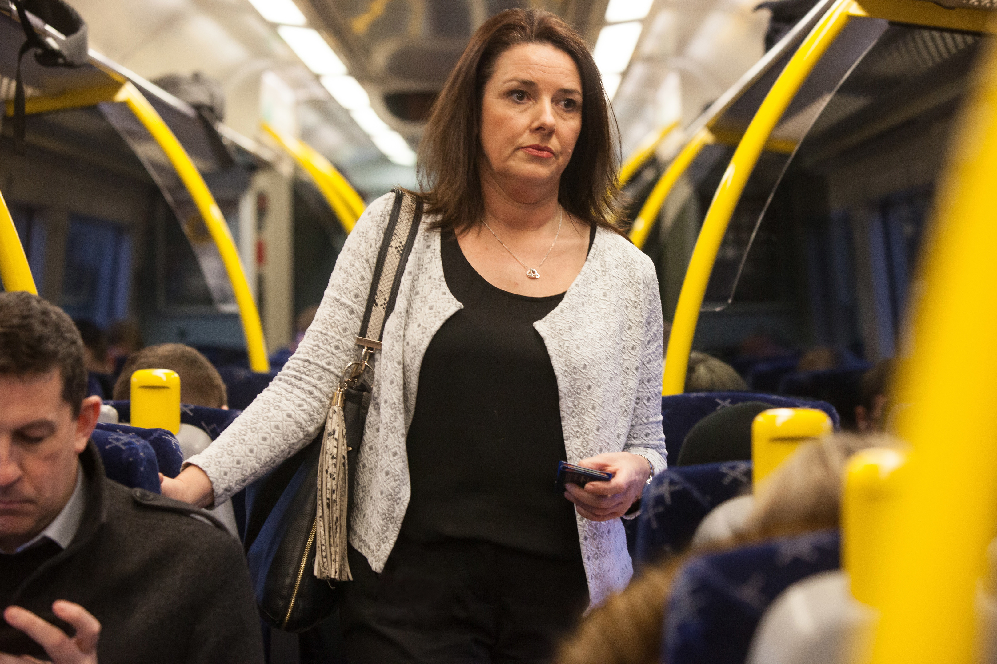 Fairness for Fife Commuters group member June Paterson commutes from Kinghorn to her work in Edinburgh.