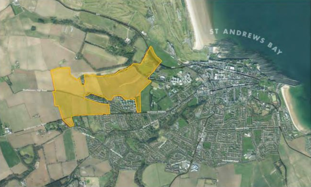 The plans for the massive site to the west of St Andrews are now available for further scrutiny.