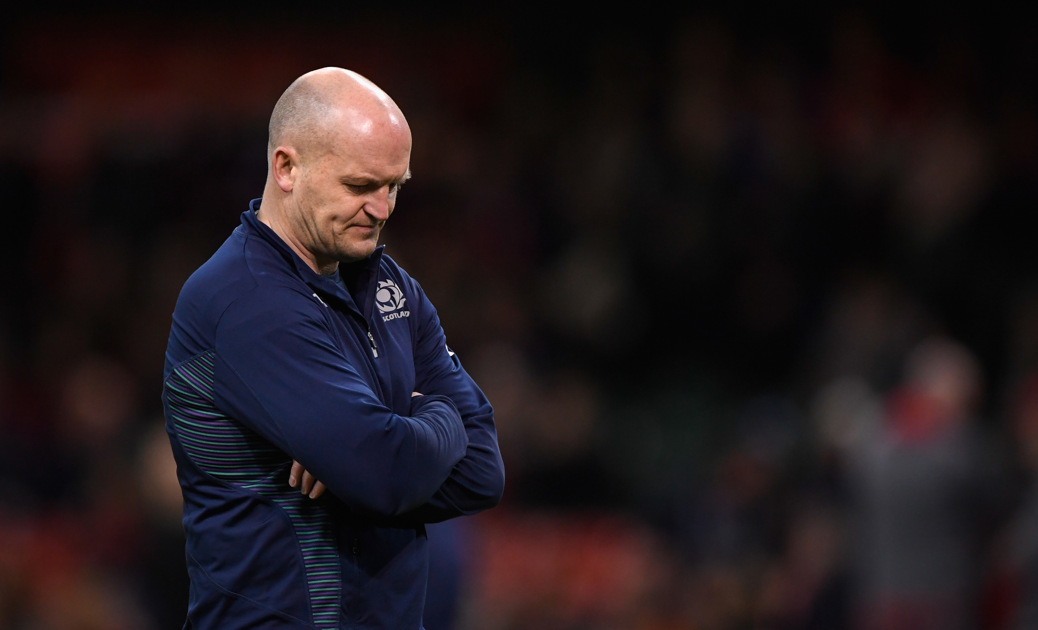 Scotland will stick to their high risk game, says head coach Gregor Townsend.