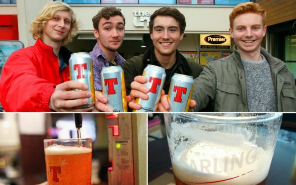 The University Of Dundee Tennent's Lager Appreciation Society are fighting to bring the Scots brew back to DUSA The Union