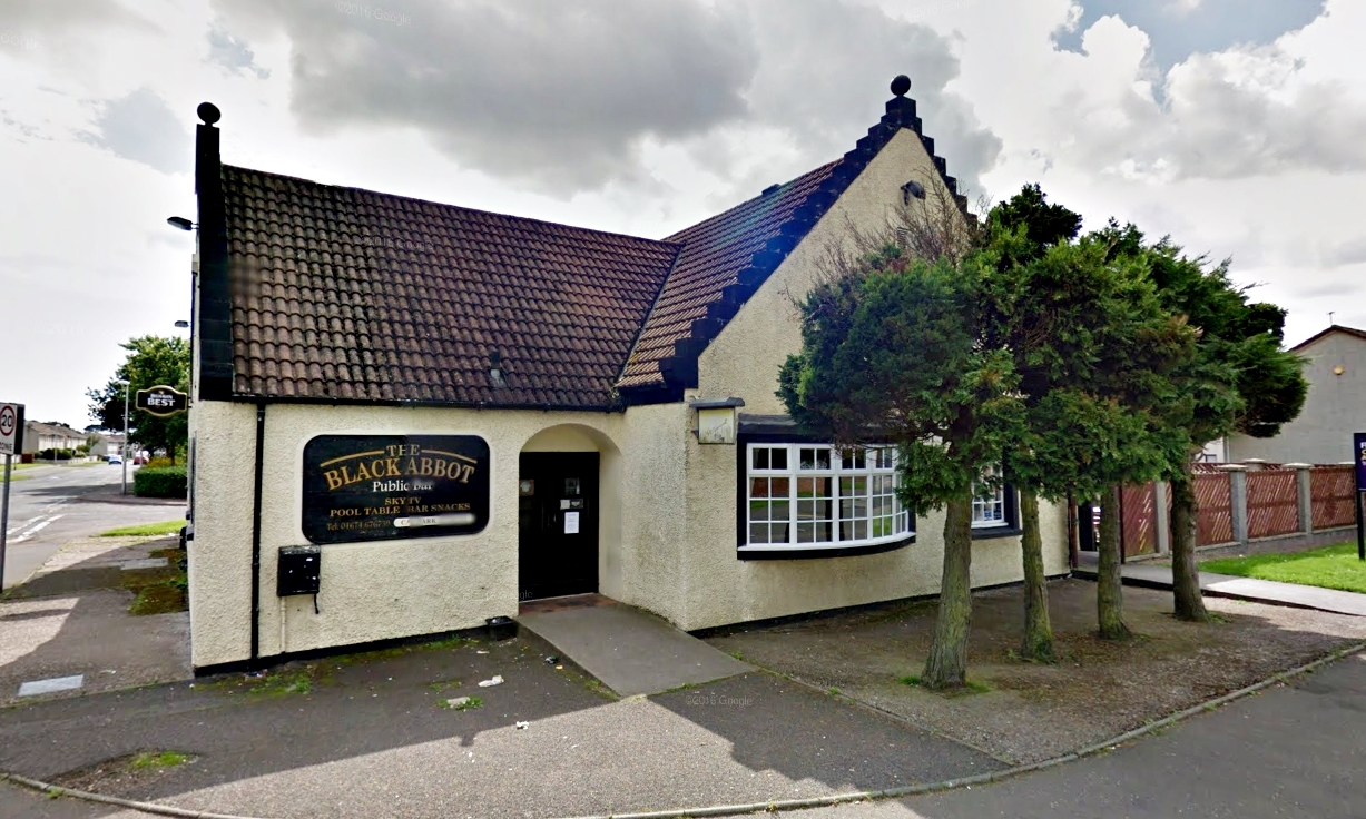 The Black Abbot in Montrose.