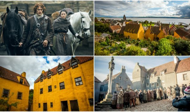 Outlander will return to the historic village of Culross next week