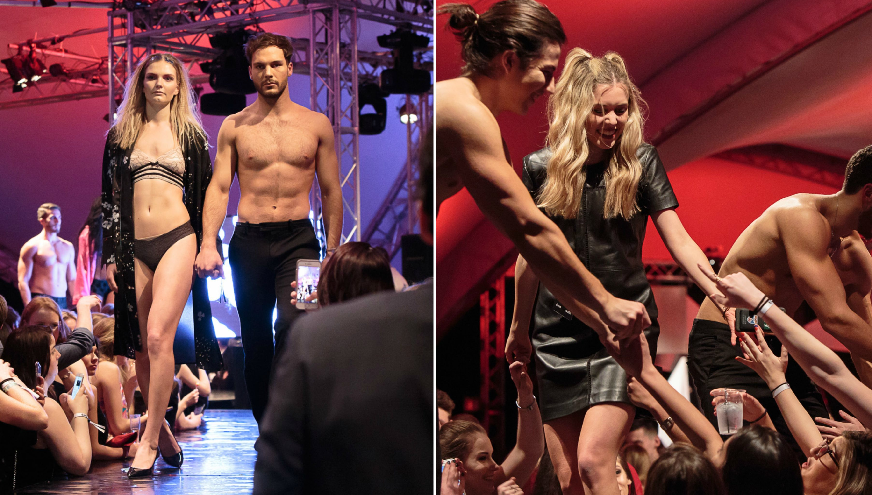 Don't Walk fashion show was staged for the 17th time in St Andrews