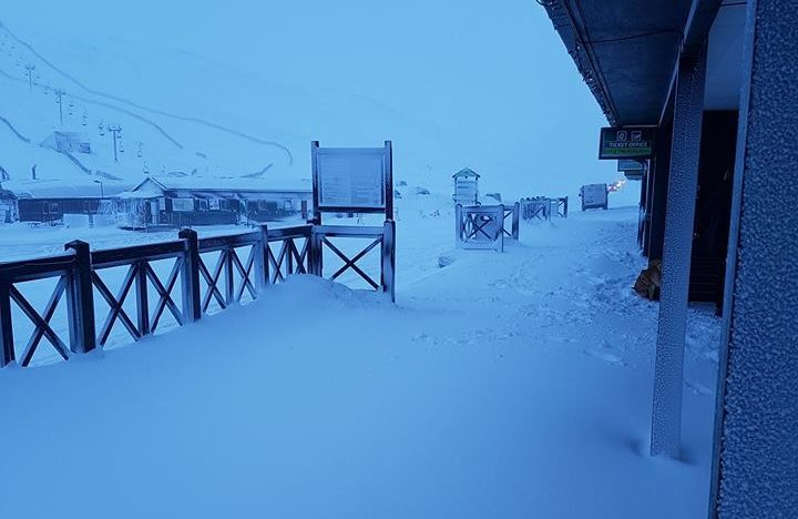 Glenshee on Tuesday morning