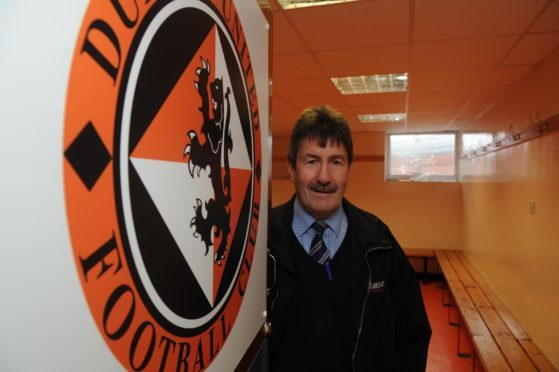 Dundee United legend Hamish McAlpine will be watching the game with fans.