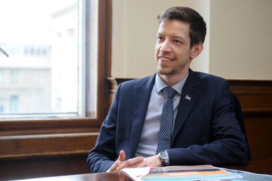 Dundee City Council leader John Alexander.