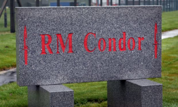 The marines are based at RM Condor