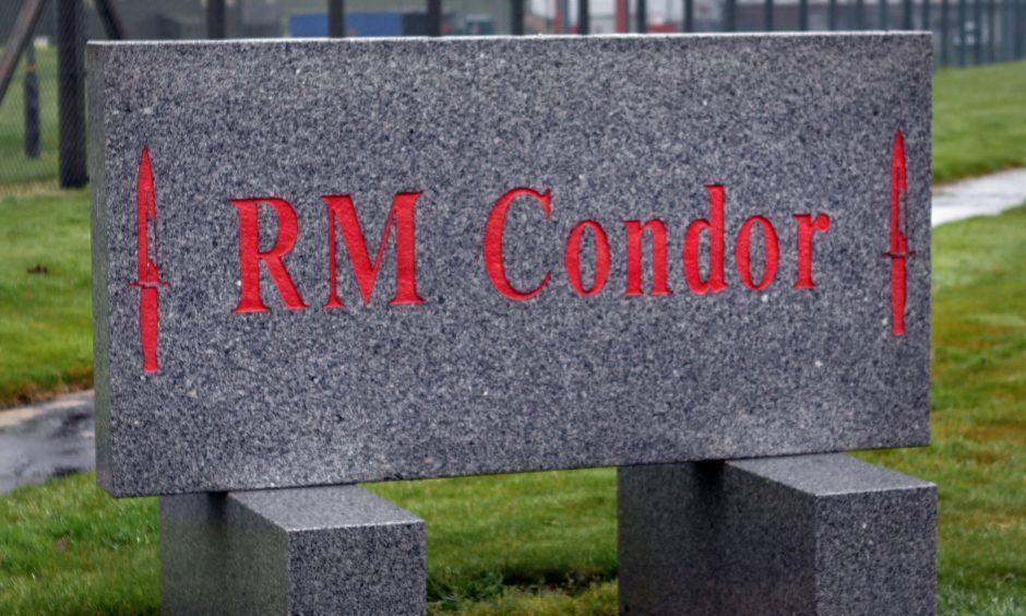 The Royal Marines will be kept at RM Condor, says David Mundell.