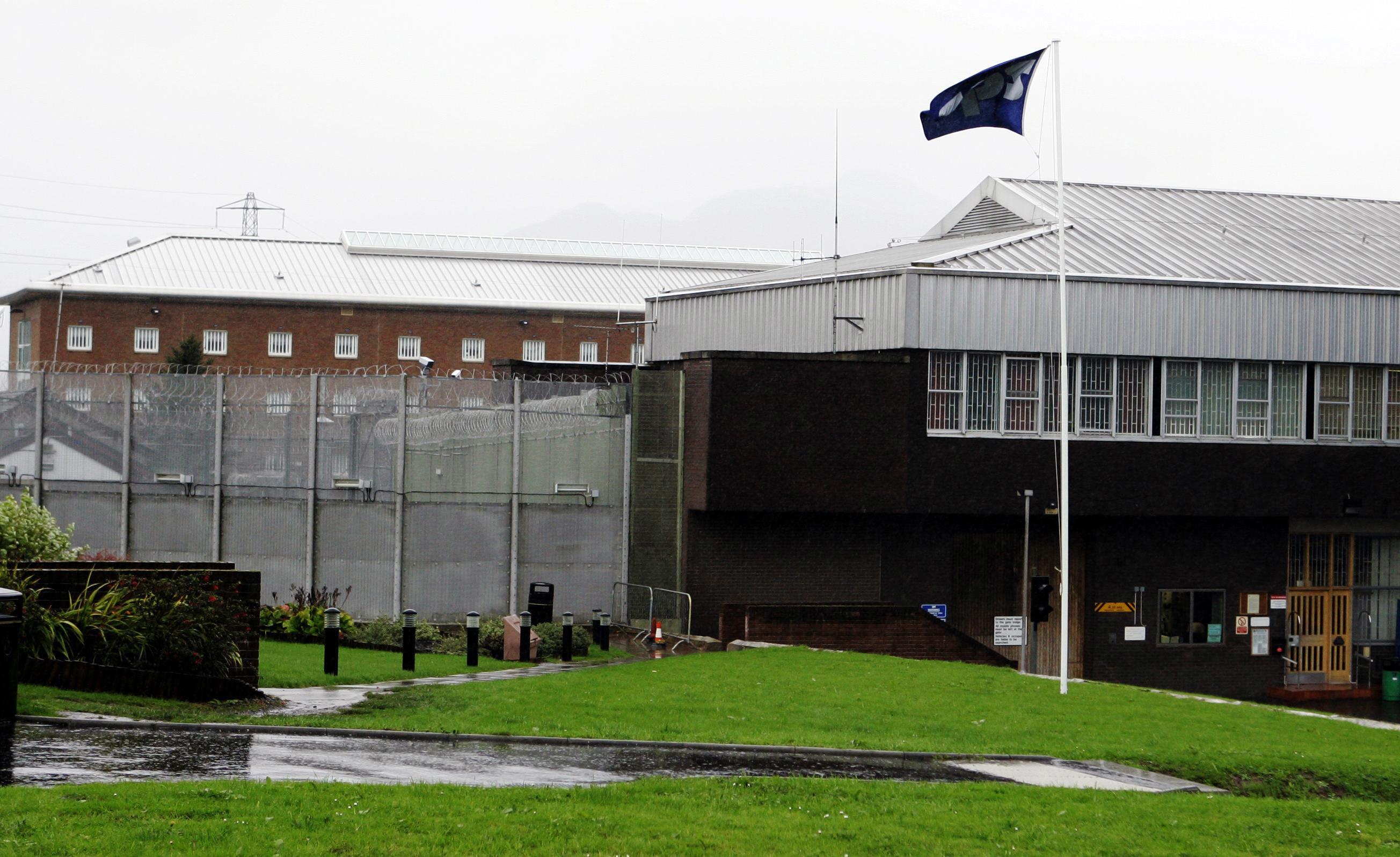Glenochil Prison.