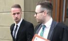Leigh Griffiths outside the court on a previous occasion