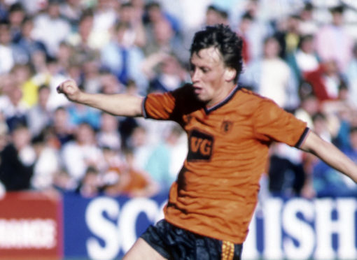Paul Sturrock in full flight.