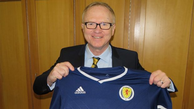 Alex McLeish is announced as the new Scotland boss.