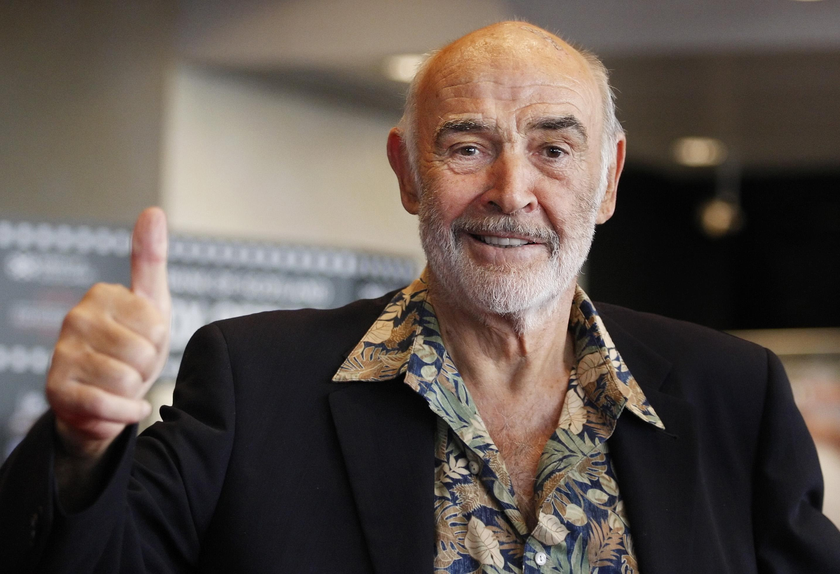 Sir Sean Connery gave Vito's the thumbs up on his visits to Edinburgh.