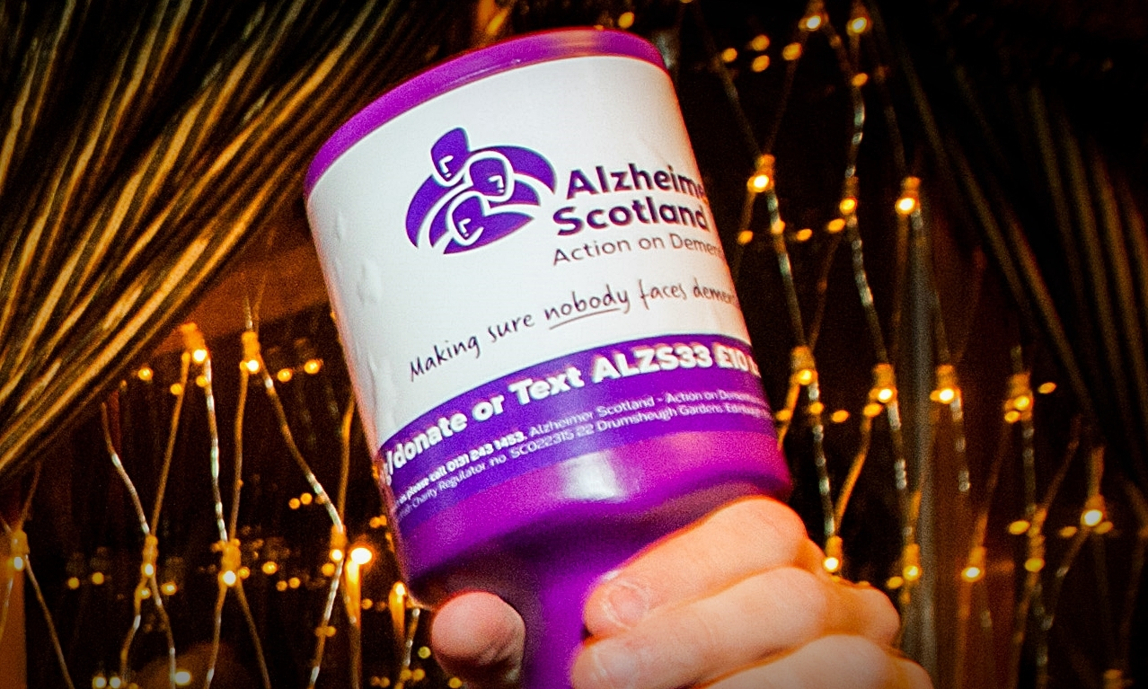 The race night will raise vital funds for Alzheimer Scotland.