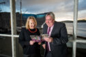 V&A Dundee Director of Audiences and Media, Jane Ferguson and VisitScotland Chief Executive, Malcolm Roughead
