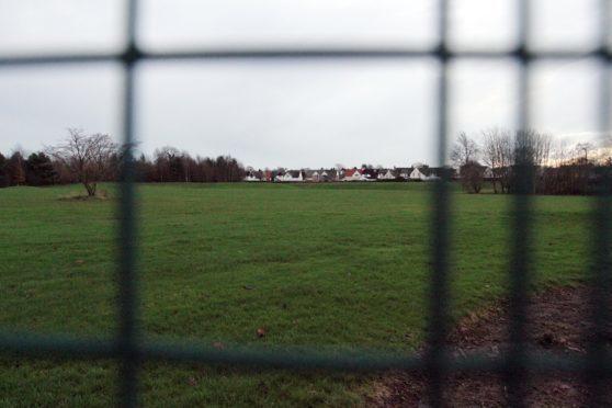 The area on Gillburn road Dundee where the old Kingspark school was.