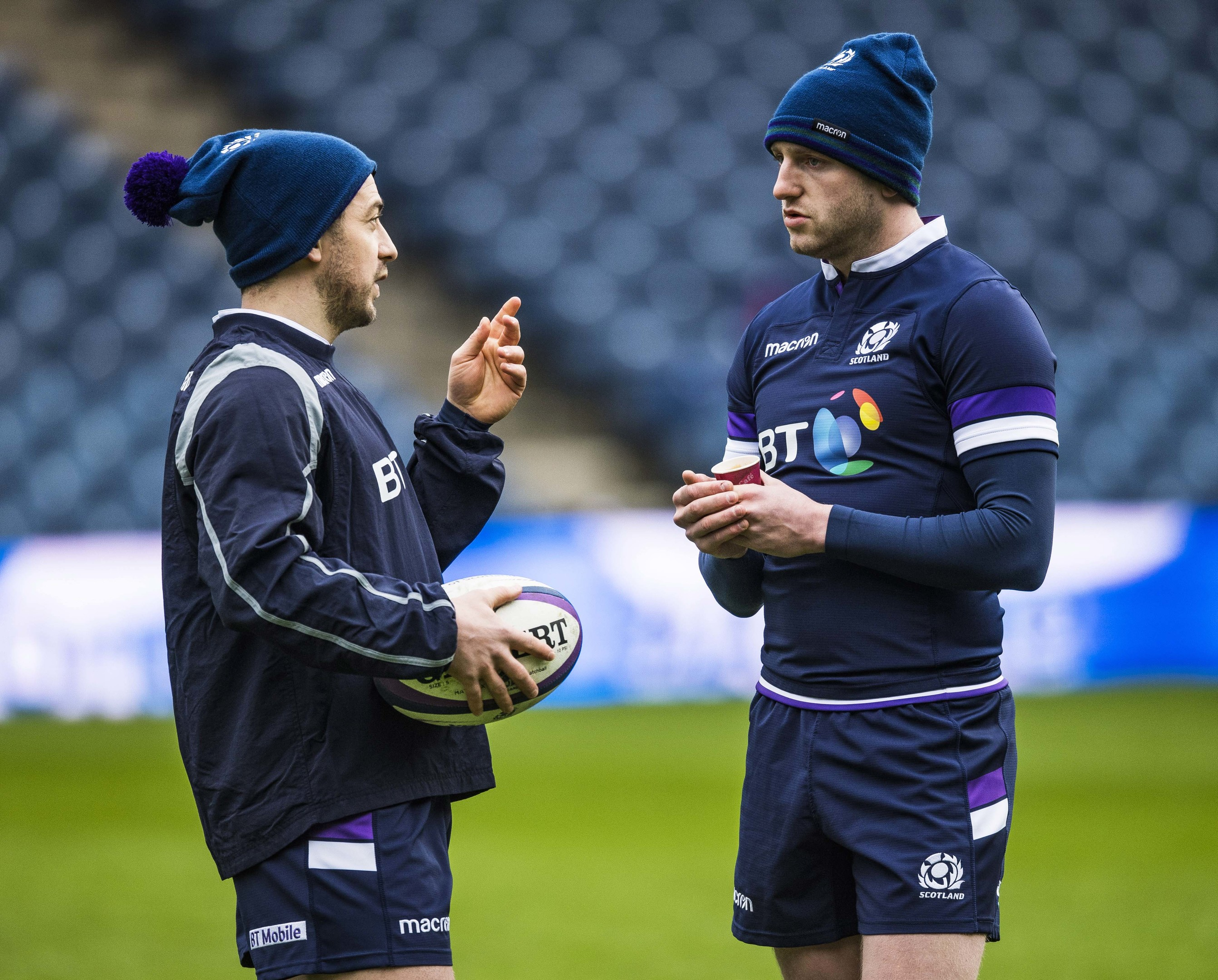 Greig Laidlaw has faith in Finn Russell's ability to crack open Ireland's defence.