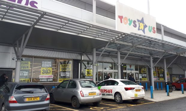 Toys R Us in Dundee
