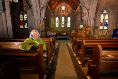 13th century Brechin Cathedral will host an all night vigil.