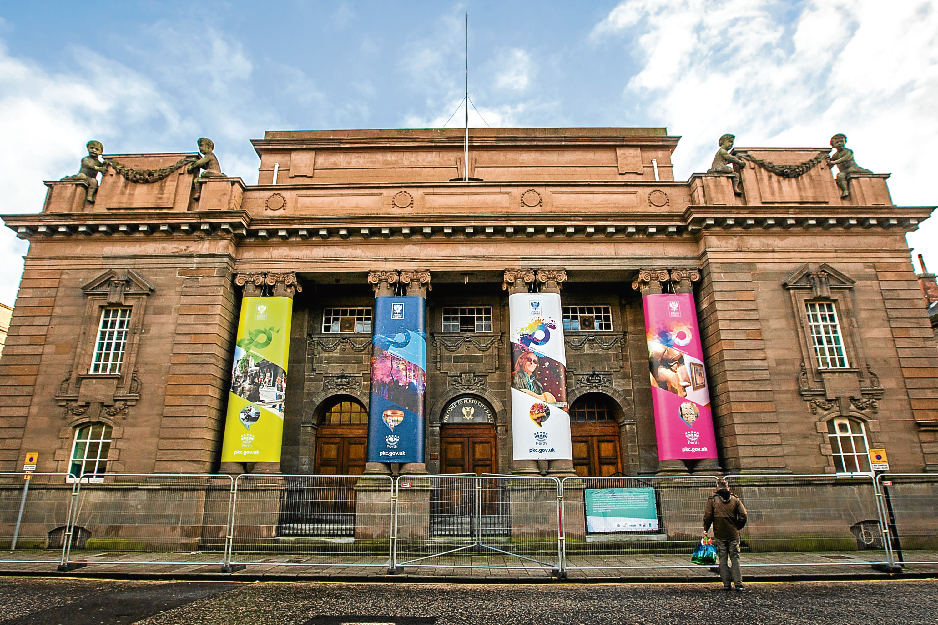 Perth City Hall will be transformed by 2021.